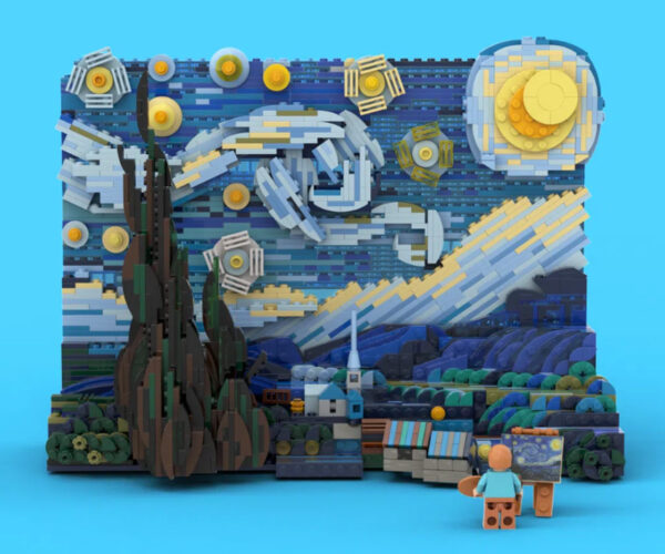 LEGO Approves Van Gogh 'The Starry Night' Set: It Belongs In A Museum!