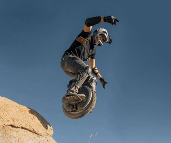Off-Road Electric Unicycle Can Go Up To 34MPH: Look Ma, No Hands!
