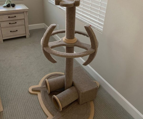 Star Trek Enterprise Cat Tree: Bolding Going Where No Cat Has Gone Before