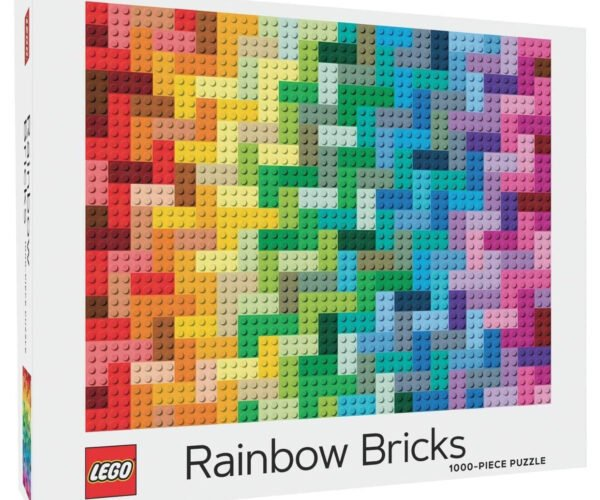 LEGO Rainbow Bricks Is a Colorful 1,000-Piece Jigsaw Puzzle