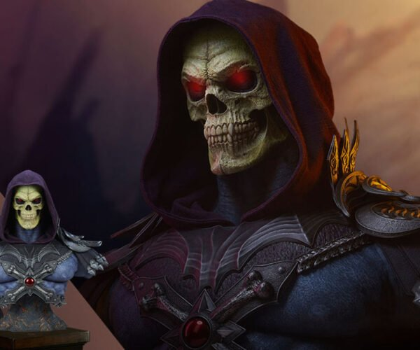 A $1,000 Life-Size Skeletor Bust: Perfect For Your Castle Greyskull