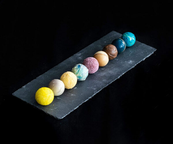 Solar System Chocolate Truffle Set Looks Out of This World