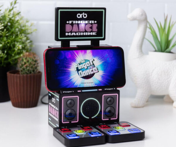 The Finger Dance Machine: Like Dance Dance Revolution for Your Fingers