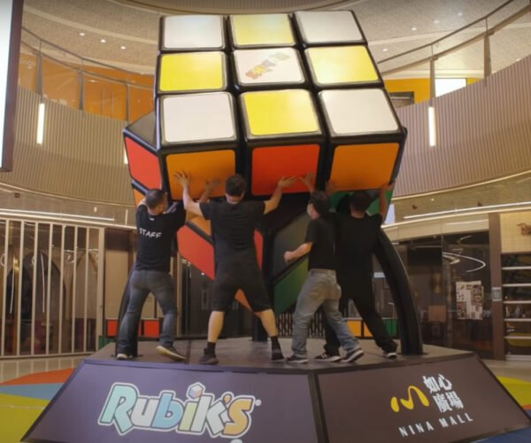 The World's Largest Rubik's Cube Is Over 8-Feet Square