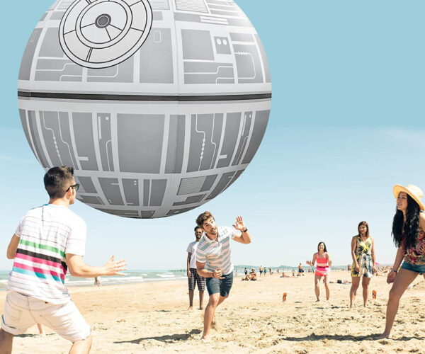 Giant 6-Foot Death Star Beach Ball: That's No Moon