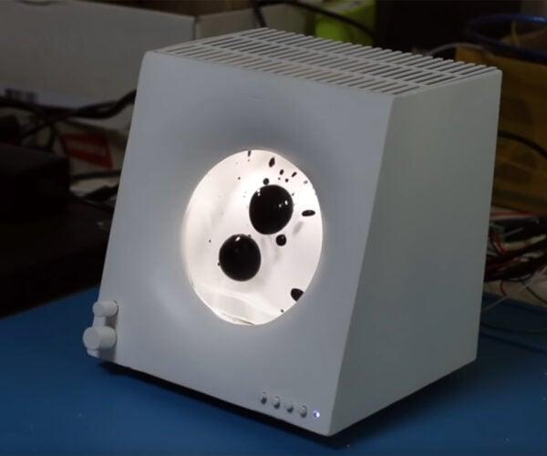 DIY Speaker with Ferrofluid Display: Lava Amp