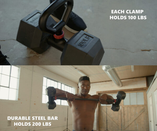 Hyperbells Turn Your Existing Dumbbells 'Into a Full Home Gym'