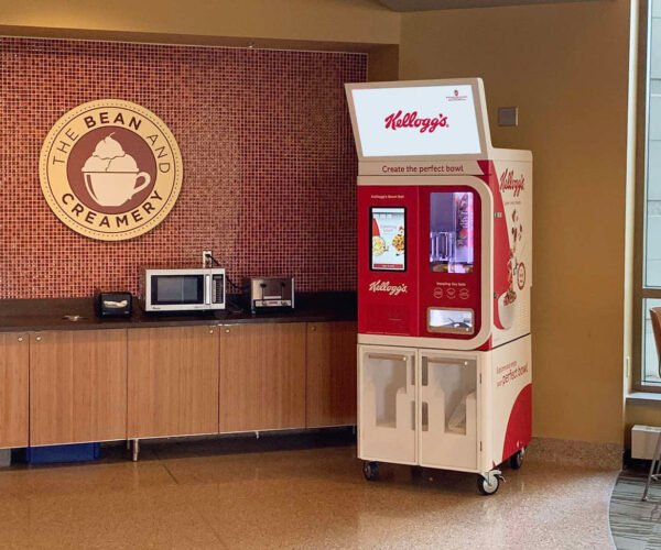This Vending Machine Will Make You Breakfast Slower than You Can Do it Yourself
