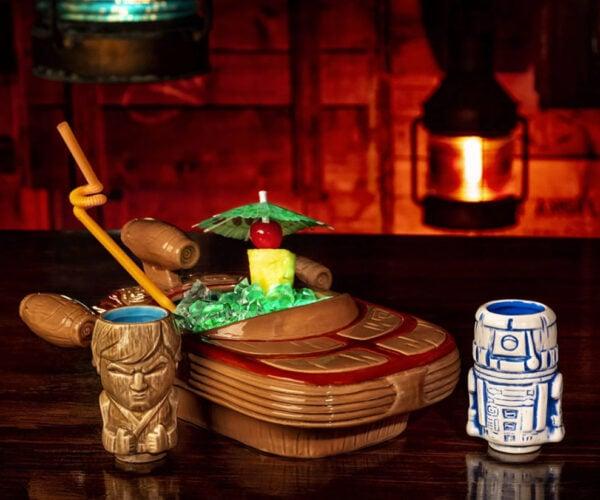 Star Wars Landspeeder Punchbowl Tiki Mug Set: DUI on Tatooine