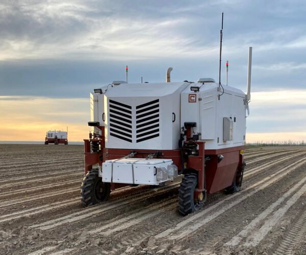 Robotic Tractor Kills Weeds with Lasers
