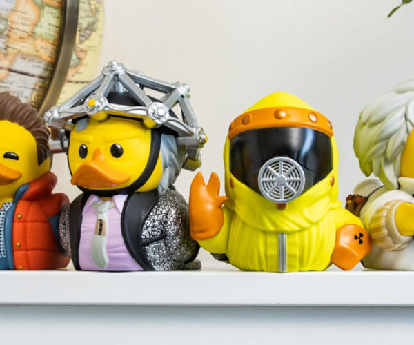 Back to the Future Rubber Duckie Figures: Quack to the Future