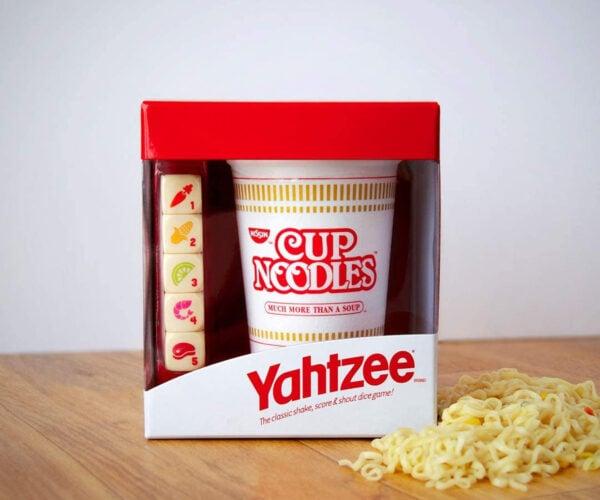 Cup Noodles Special Edition Yahtzee: Come On, Five Shrimps!