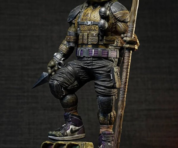 This Fan-made TMNT Donatello Figurine is Insanely Good