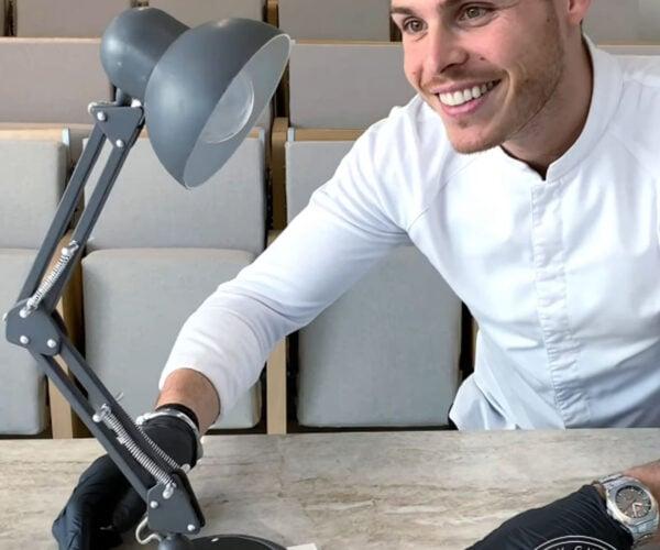 Pastry Artist Creates Edible Desk Lamp: Luxo, Edible