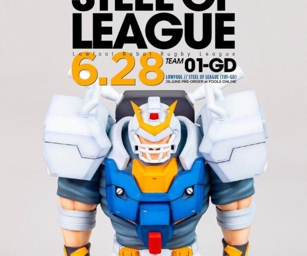 Fools Paradise Lowfool Steel of League Figure: Mobile Scrum Gundam