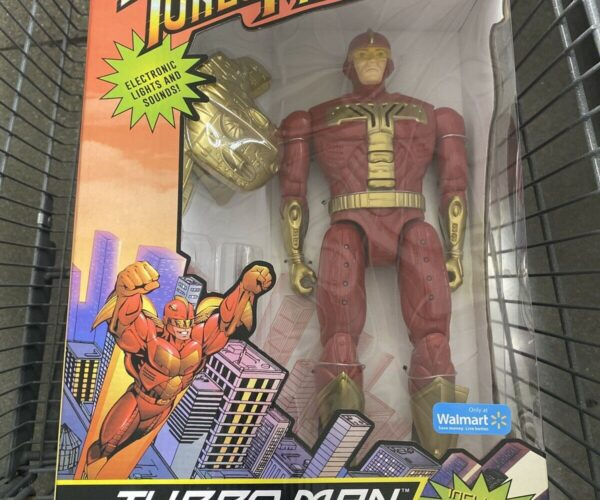 Funko Turbo Man Action Figure Reissue: It's Scalper Time!