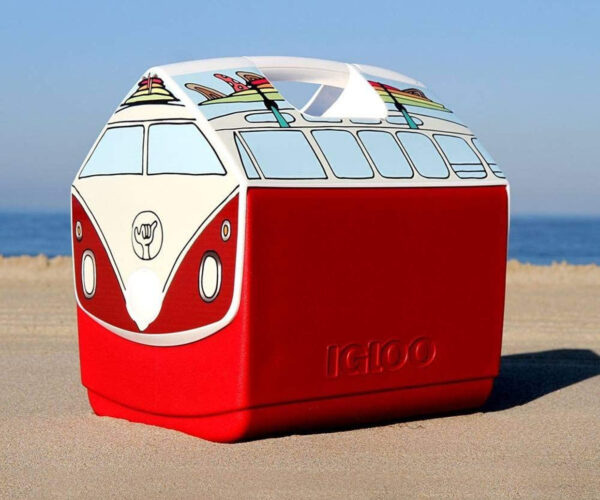 VW Microbus Igloo Coolers: The Party Bus Has Arrived!