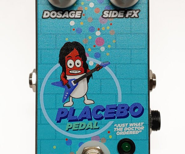 Chibson Placebo Pedal Does Nothing: Air Guitar Essential
