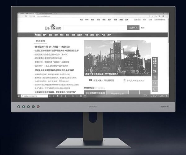 Dasung Paperlike 253 3K HDMI E-ink Monitor: Stock Footage
