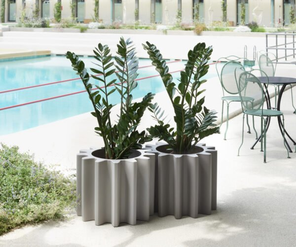 Gear Shaped Planters for Mechanical Plant Lovers