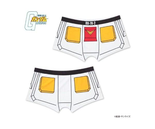 Gundam Narikiri RX-78 and Zaku Boxer Briefs and Socks: Roleplay You Say?