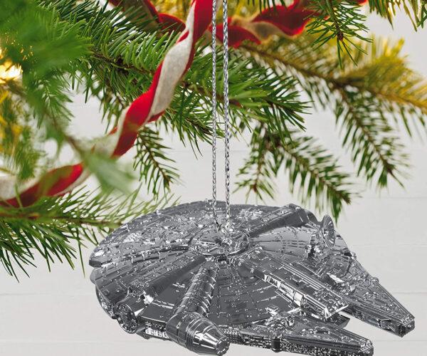 Hallmark's Keepsake 2021 Millennium Falcon Christmas Ornament