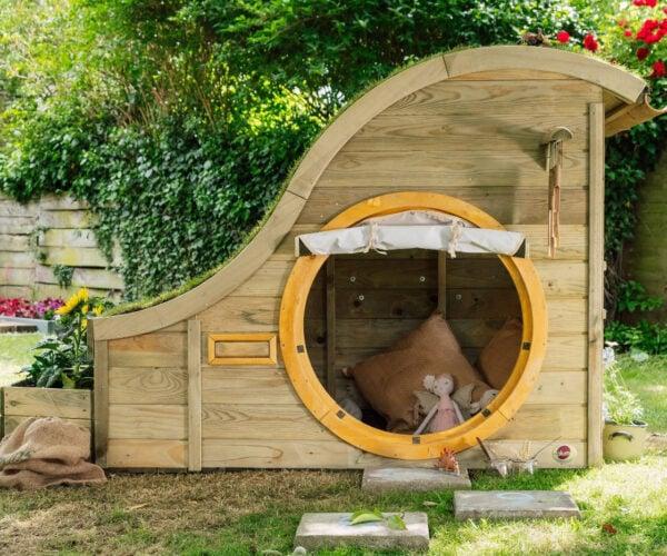 Hobbit Hole Inspired Children's Playhouse