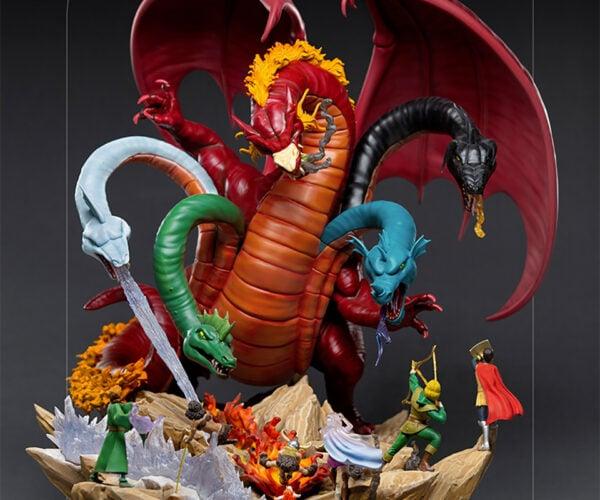 Iron Studios Dungeons & Dragons Tiamat Demi Statue: Literal Fivehead
