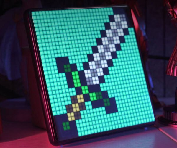 Divoom Pixoo Max Takes Pixel Art to the Max