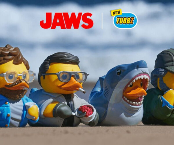 Jaws x TUBBZ Rubber Duckies: For A Bloody Good Bathtime