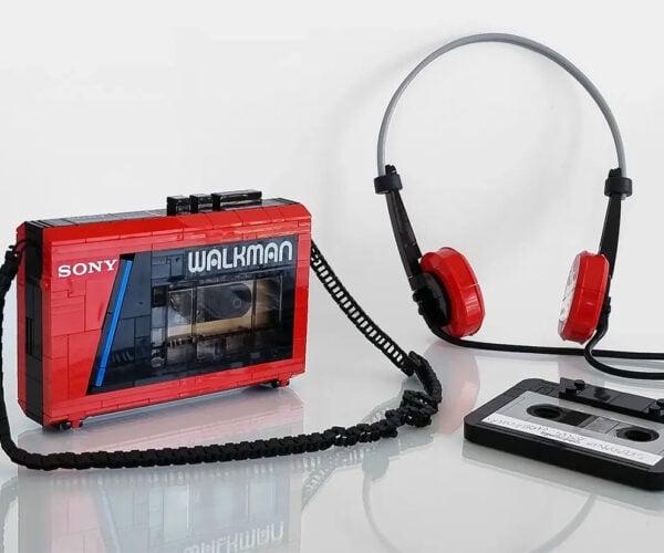 A LEGO Sony Walkman Sounds Like a Great Idea