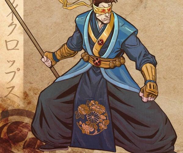 Lucas Pereira's Traditional Japanese X-Men: Krakoa no Sato