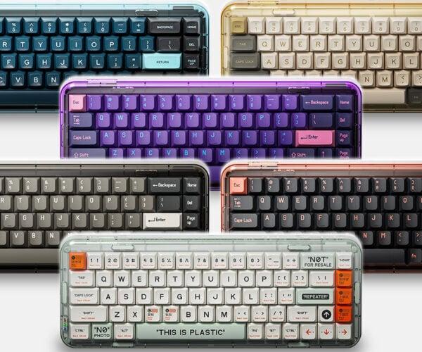 MelGeek Mojo68 Transparent Mechanical Keyboard: I See Value
