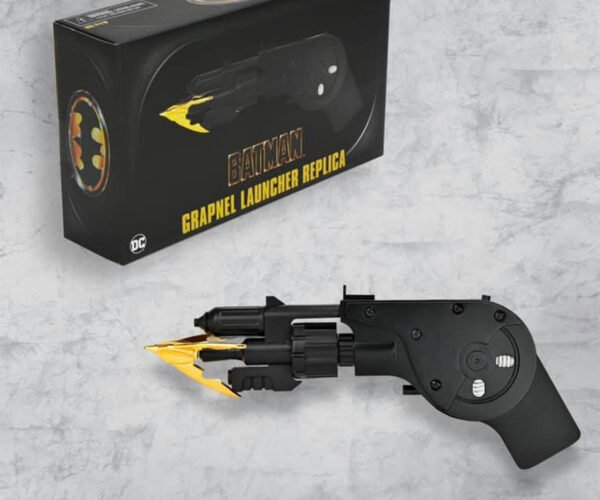 NECA 1989 Batman Grapnel Launcher: Ever Dance with the Devil in the Pale Moonlight?