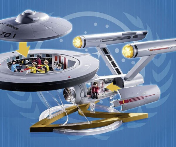 Playmobil Releasing Giant 39-Inch USS Enterprise Playset: Beam Me Up, Scotty