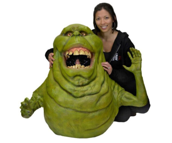 Life-Size Ghostbusters Slimer Foam Replicas: It's Right Here, Ray