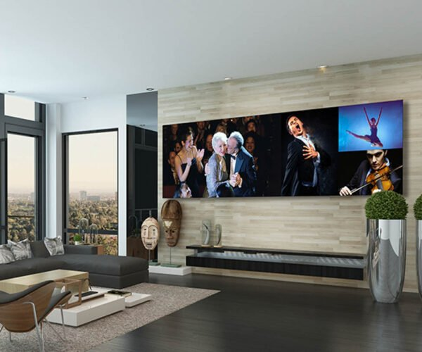 LG DVLED Super-Sizes TV Cinema Walls up to 325 Inches