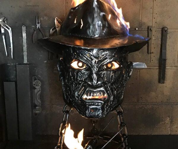 Freddy Krueger Fire Pit Is the Stuff of Nightmares