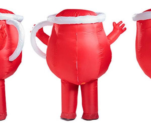 An Inflatable Kool-Aid Man Costume: Oh Yeah!