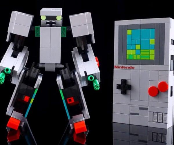 LEGO Expert Turns NES Kit into a Game Boy Transformer