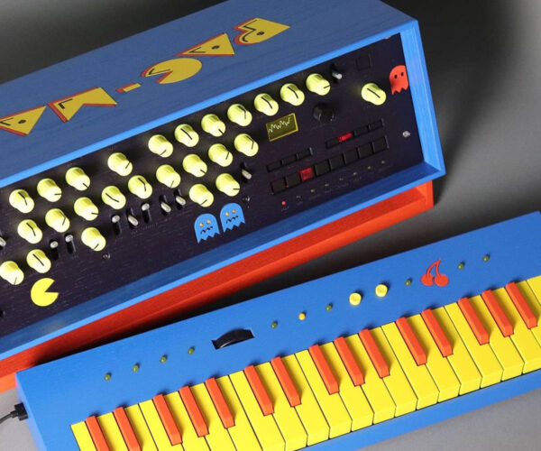 This Custom Pac-Man Analog Synthesizer Looks A-maze-ing