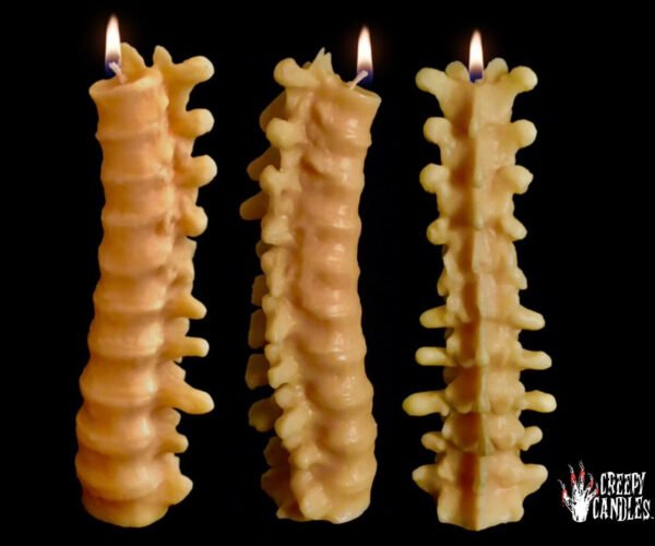 Sub-Zero Has These Human Spine Candles on His Dining Table
