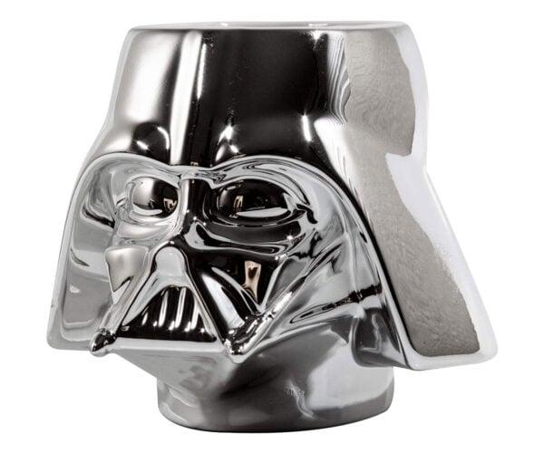 Darth Vader Chrome Ceramic Mug: The Shiny Side of the Dark Side of the Force