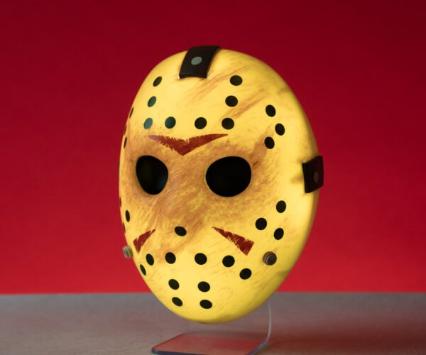 Friday the 13th Glowing Jason Mask Light is Nightmare Ready