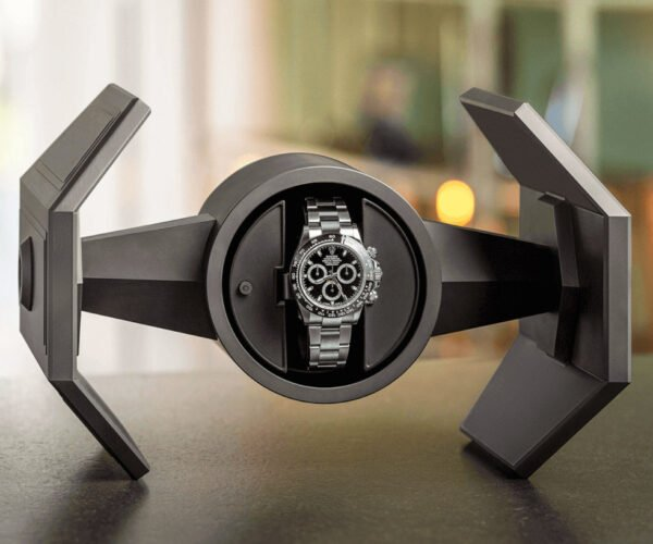 TIE Fighter Kinetic Watch Winder: Use The Force, Luke